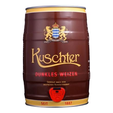 德国库斯特原浆特酿小麦黑啤酒5L