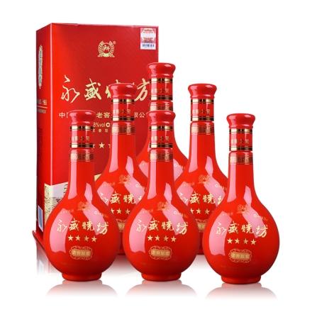 38°泸州老窖永盛烧坊龙凤呈祥500ml(6瓶装)
