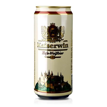 德国凯撒白啤酒950ml