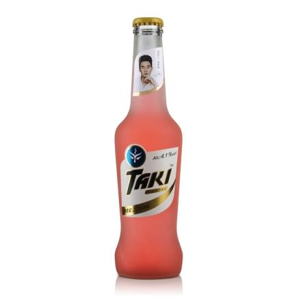 【清仓】4.1°达奇TAKI水蜜桃味伏特加鸡尾酒(预调酒)纯情装275ml