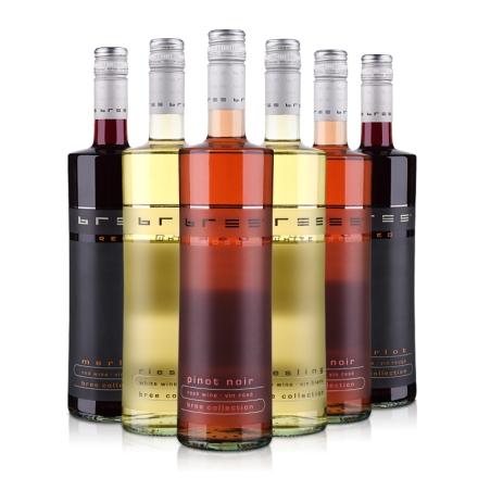 冰灵系列 (梅洛X2+黑皮诺桃红X2+霞多丽X2)葡萄酒装