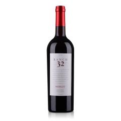 美国32领域梅洛干红葡萄酒750ml