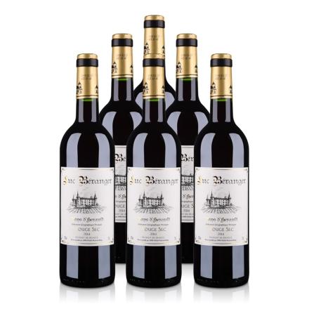 法国吕克贝朗杰2012干红葡萄酒(6瓶装)