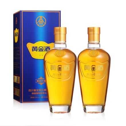 39°五粮液黄金万福酒单支480ml(双瓶装)