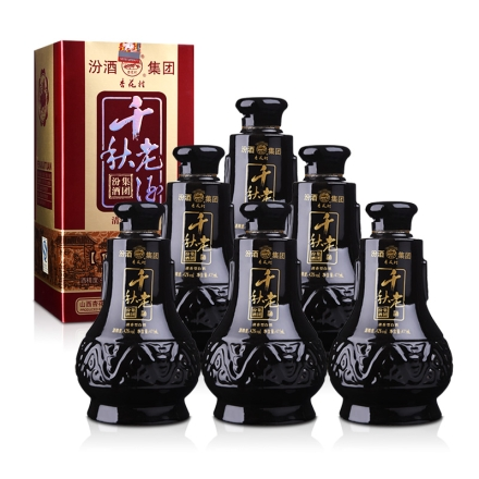 42°汾酒集团千秋老酒475ml*6(整箱装)