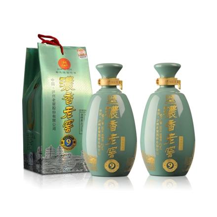 42°泸州老窖浓香青瓷鉴藏9年500ml (双瓶装)