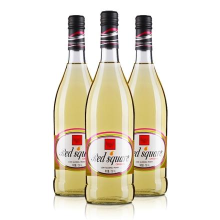 7° 红广场 梨酒(配制酒)730ml(3瓶装)