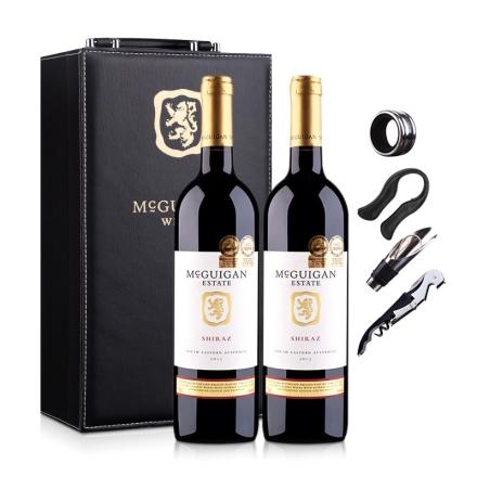 澳大利亚麦格根.庄园西拉红葡萄酒双支礼盒