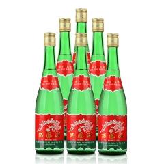 55°西凤酒绿瓶500ml(裸瓶)(6瓶装)