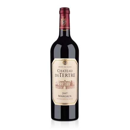 (列级庄·名庄正牌)法国杜特城堡2007干红葡萄酒750ml(又名:德特拉)