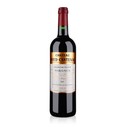 名庄红酒(列级庄·名庄正牌)法国贝卡塔纳酒庄2007干红葡萄酒750ml(又名:布藤)