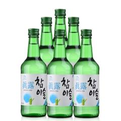 17.8°新真露竹炭酒360ml(6瓶装)