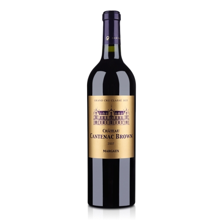 (列级庄·名庄正牌)法国肯德布朗酒庄2007干红葡萄酒750ml(又名:康田布朗)