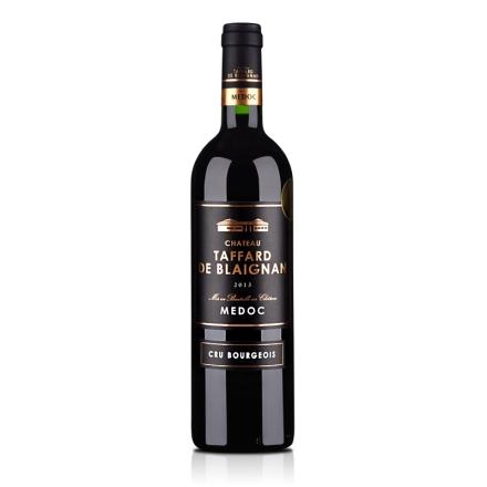 法国红酒法国梅多克中级庄塔法干红葡萄酒750ml