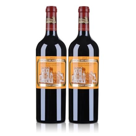 (列级庄·名庄·正牌)法国宝嘉隆城堡2013干红(双瓶装)