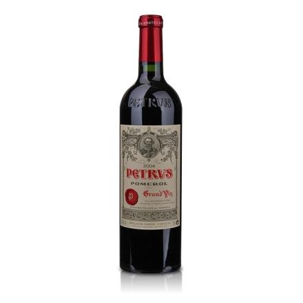 (列级庄·名庄·正牌)法国红酒法国柏图斯酒庄2004干红葡萄酒750ml(又名帕图斯、柏翠)
