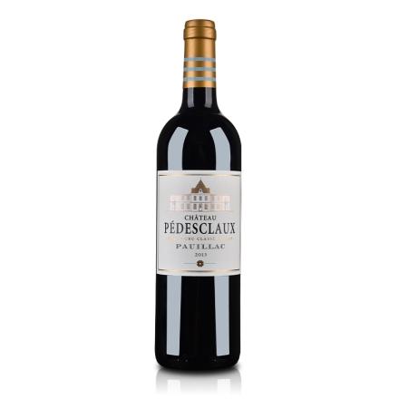 (列级庄·名庄·正牌)法国百德诗歌城堡2013红葡萄酒750ml