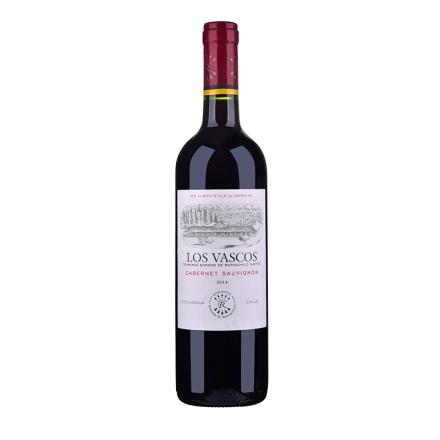 智利紅酒智利拉菲巴斯克卡本妮蘇維翁紅葡萄酒750ml(又名:華詩歌)