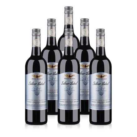 【清仓特价】澳大利亚原瓶进口红酒整箱纷赋银标西拉赤霞珠马尔贝克干红葡萄酒750ml(6瓶装)