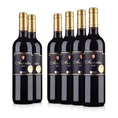 西班牙进口红酒 圣霞多·西班牙爱肯特斯干红葡萄酒 750ml(6瓶装)
