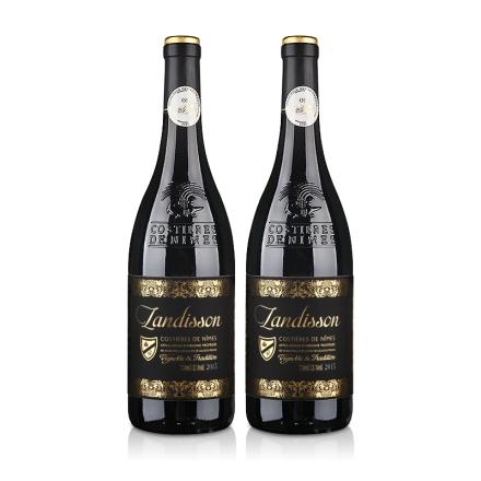法国红酒法国原瓶进口AOP勆迪干红葡萄酒750ml(双瓶装)