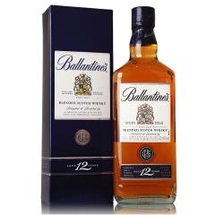 40°英国百龄坛12年苏格兰威士忌700ml