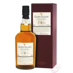 43°英国格兰爱琴12年斯贝塞单一麦芽苏格兰威士忌700ml