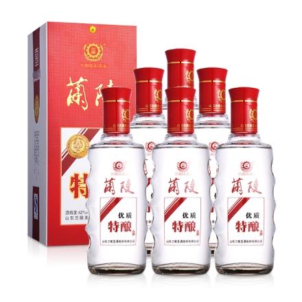 42°兰陵特酿450ml(6瓶装)