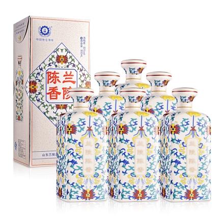 50°兰陵瓷瓶陈香500ml(6瓶装)