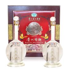 52°贵州特曲一帆风顺礼盒500ml(2瓶)