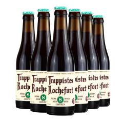 比利时进口罗斯福8号修道院啤酒(Rochefort)330ml*6