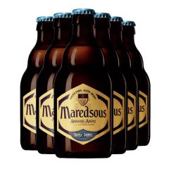 比利时进口马里斯10度啤酒马杜斯修道院(maredsous)330ml*6