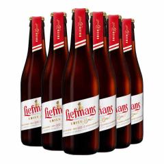 比利时进口乐蔓樱桃窖藏水果啤酒330ml*6