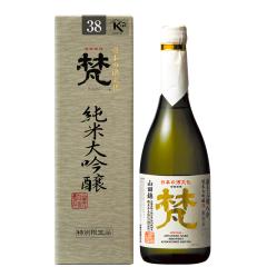 16°日本梵三割八分 纯米大吟酿清酒 720ml