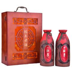 50°酒鬼湘泉陈年礼盒装500ml*2(2003年-2006年随机发货)