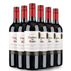 干露红魔鬼赤霞珠(卡本妮苏维翁)红葡萄酒750ml 6支装