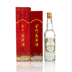 【京东配送】58°金门高粱酒白金龙500ml