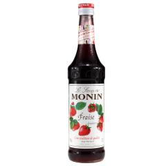 莫林MONIN草莓味糖浆(调酒必备)700ml
