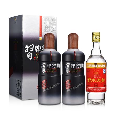 【炫酷爆品日】52°习牌特曲丙申年纪念版 500ml(双瓶装)+52°习酒习水大曲500ml
