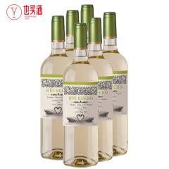 美景湾白苏维翁干白葡萄酒750ml  6支装