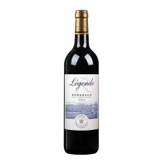 法国 拉菲传奇波尔多法定产区红葡萄酒 750ml