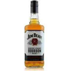 40°美国Jim Beam占边波本威士忌750ml