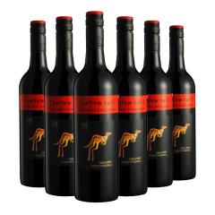 澳大利亚 原装进口红酒 黄尾袋鼠加本力苏维翁红葡萄酒750ml*6