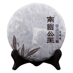 南国公主梨花坞典藏普洱茶熟茶357g茶叶