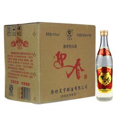 42°迎春酒光瓶酱香型白酒500ml(12瓶装)