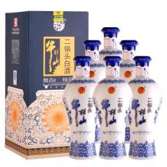 42°牛栏山蓝花瓷二锅头500ml(6瓶装)