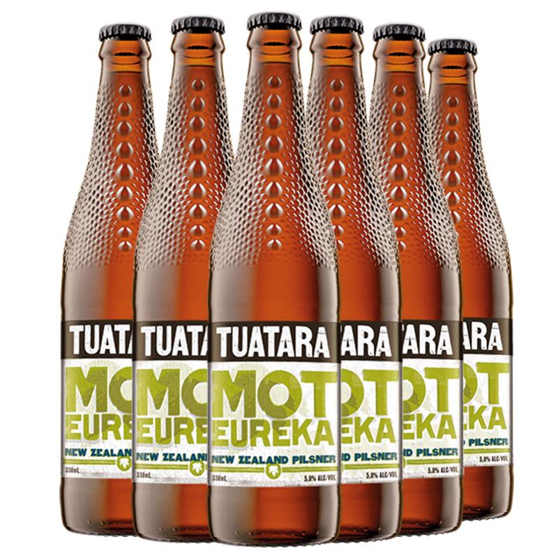 新西兰进口tuatara大蜥蜴皮尔森啤酒330ml*6