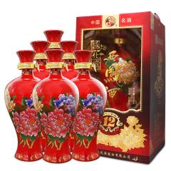 45°国花瓷12年500ml(6瓶装)