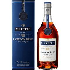 40°法国Martell马爹利蓝带干邑白兰地洋酒1000ml