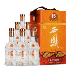 45°西凤酒陈酿15年500ml(6瓶装)